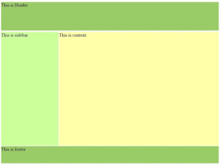 Chapter 2 9 4 A simple CSS layout demo - HTML and CSS