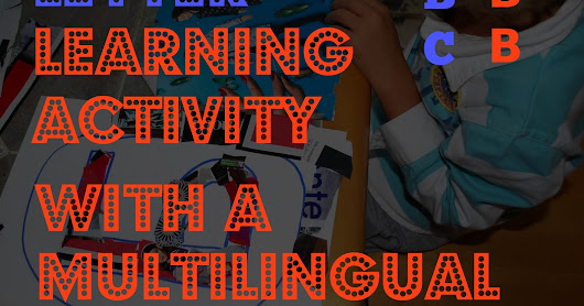 Letter learning activity with a multilingual twist.