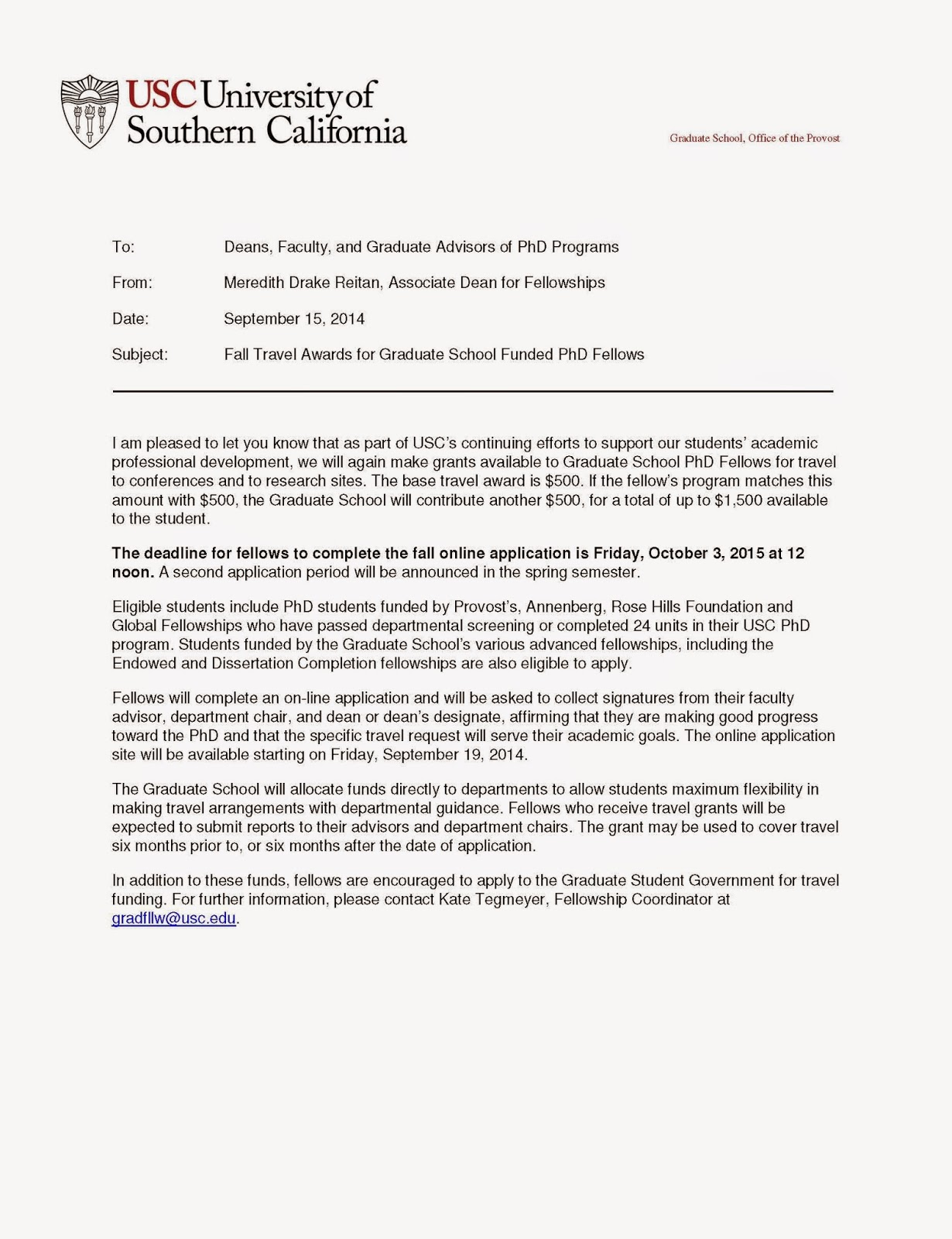 usc cover letter - Usc Marshall Resume Template