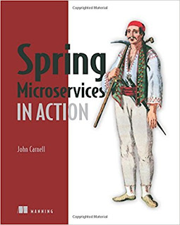 best spring microservice book for Java developers