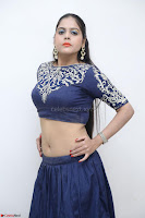 Ruchi Pandey in Blue Embrodiery Choli ghagra at Idem Deyyam music launch ~ Celebrities Exclusive Galleries 092.JPG