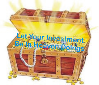 Spiritual Investment vs Earthly Investment