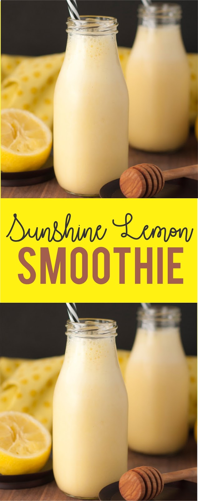 Sunshine Lemon Smoothie