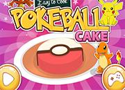 Cocina Pokeball Cake juego