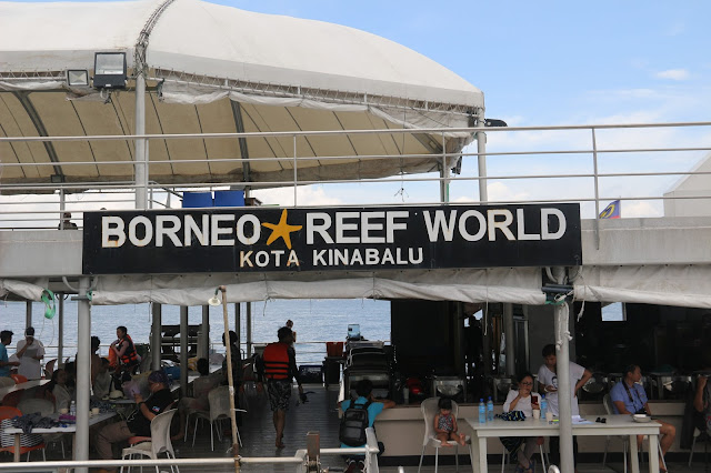 Pontoon Borneo Reef World