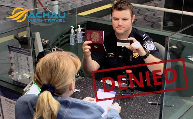 Những lý do nào bị từ chối nhập cảnh vào Mỹ?1