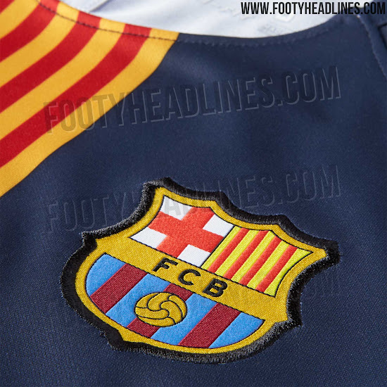 half off 39a24 9ee8e Barcelona 18-19 Pre-Match Shirt Released - Footy Headlines