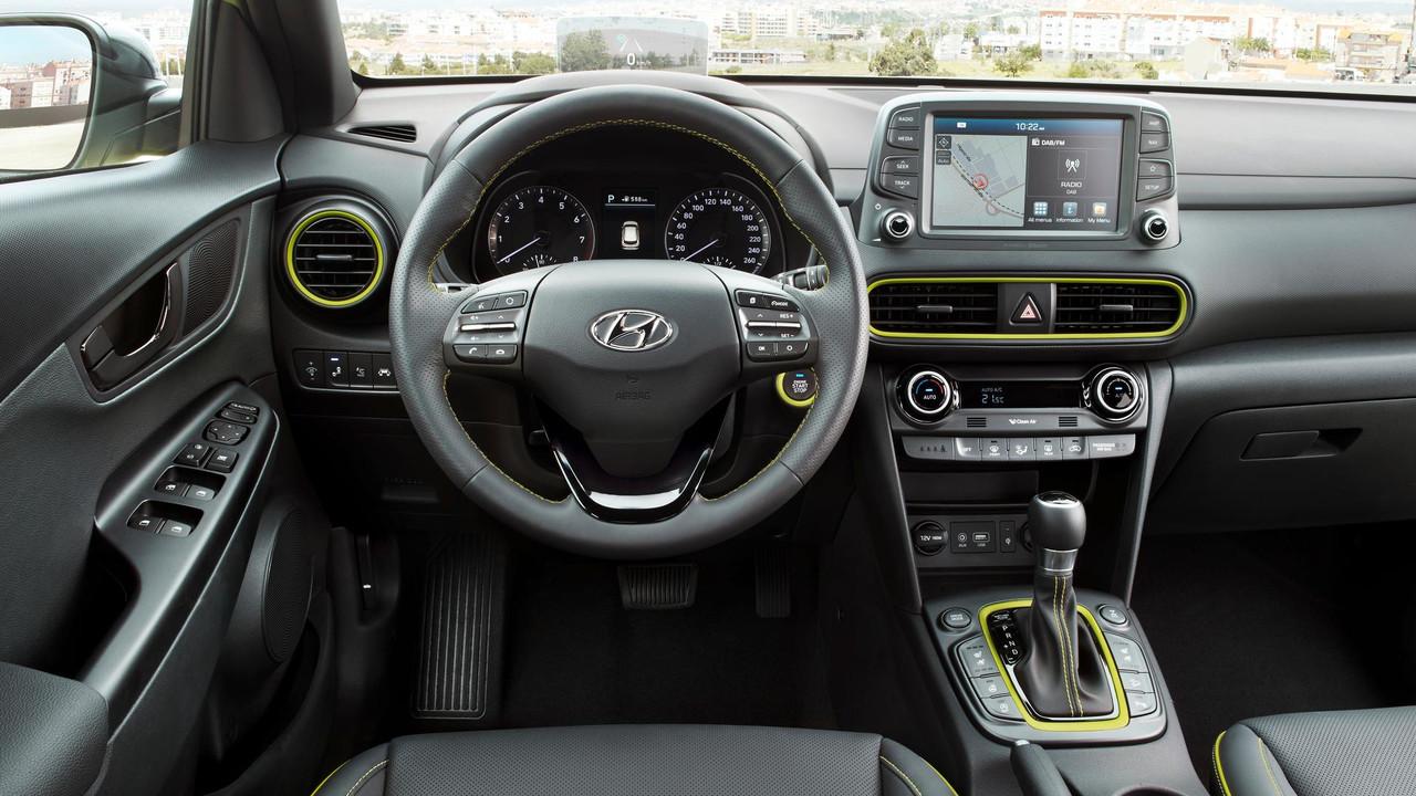 Hyundai Kona lắp ráp 3 cục