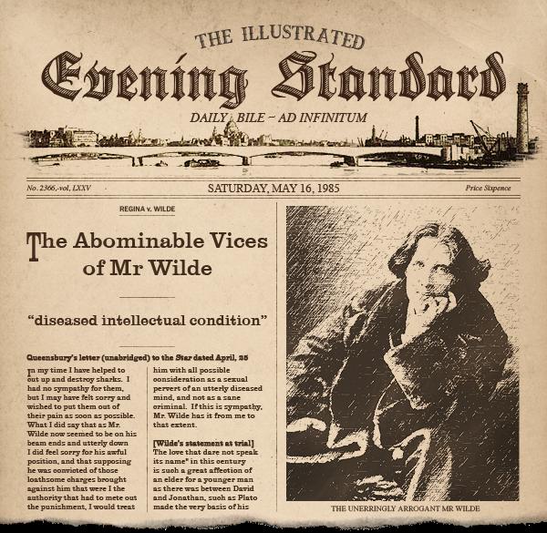 Oscar Wilde Documents