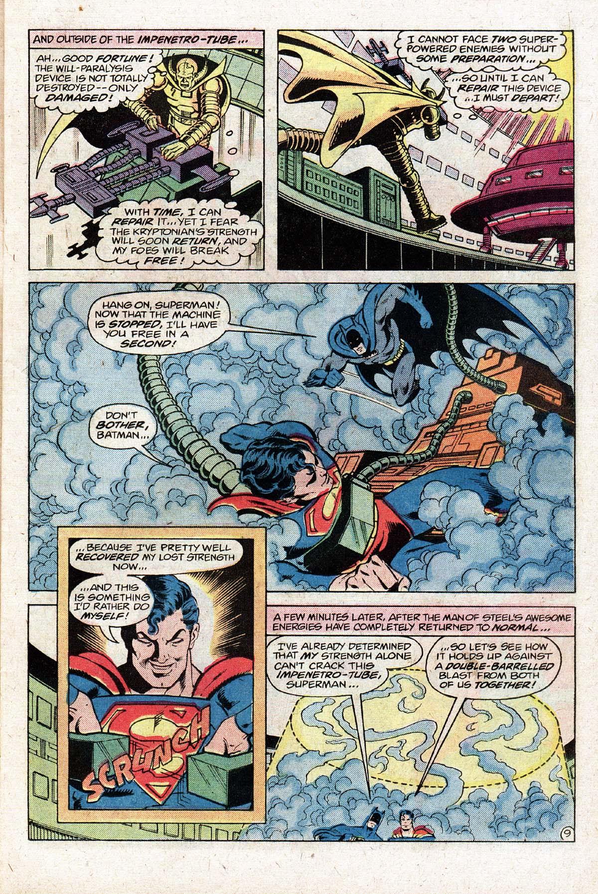 Read online World's Finest Comics comic -  Issue #274 - 11