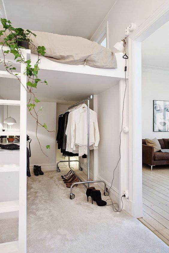 Hogar diez 10 soluciones para habitaciones peque as for Roperos para habitaciones pequenas