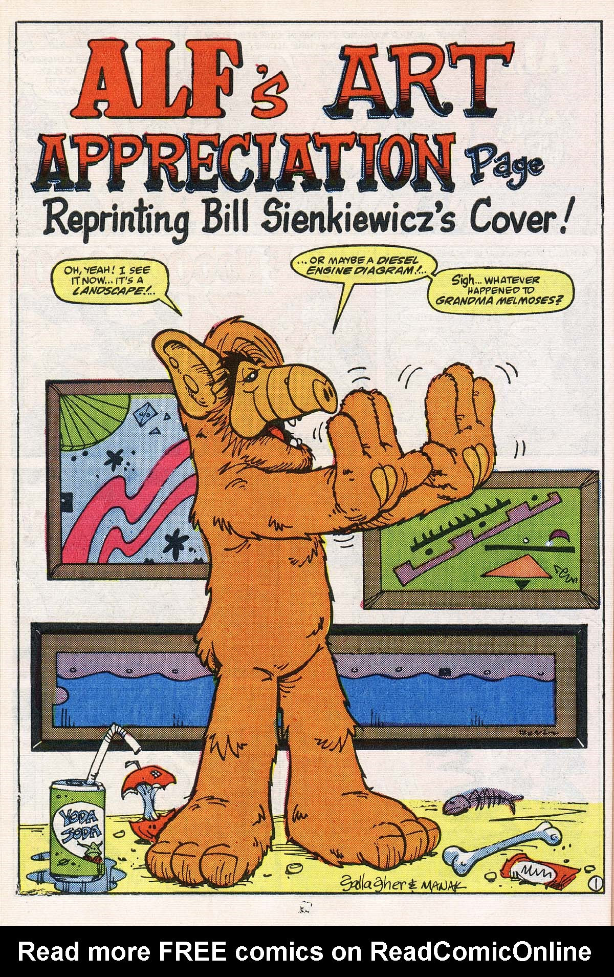 Read online ALF comic -  Issue # _Annual 2 - 30