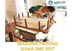 Beasiswa SMK Prestasi Tahun 2017 untuk Pelajar SMK Seluruh Indonesia