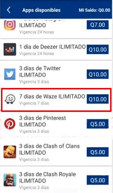 Internet gratis con Waze Tigo Guatemala y mas paises