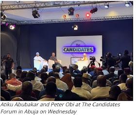 PDP Presidential Candidate Atiku Promises To Pardon Treasury Looters