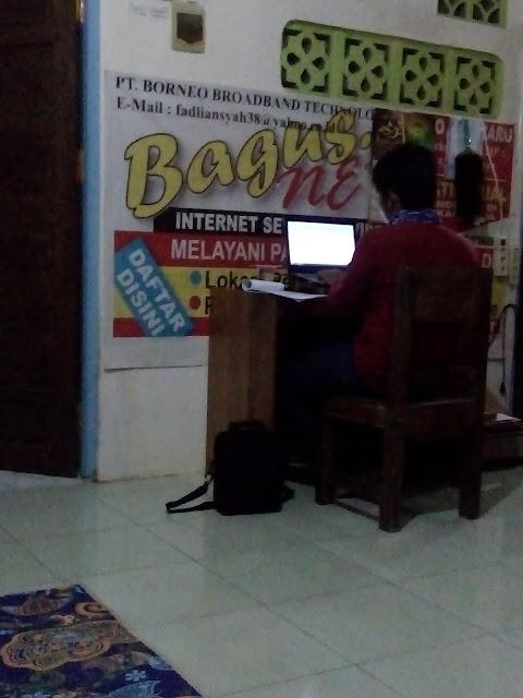 Siswa Kursus di LKP Multi Komputer