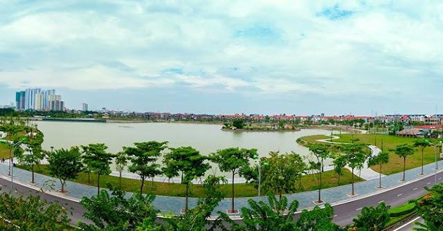 Hồ điều hòa dự án An Bình City