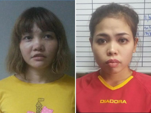 Two ladies ready  alleged for  murder of Kim Jong-nam ready to face judgment