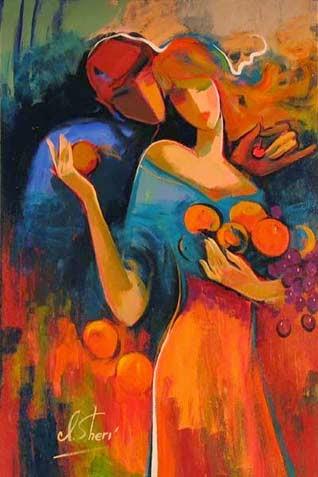 """Doce"" Colheita - Irene Sheri e suas românticas pinturas"