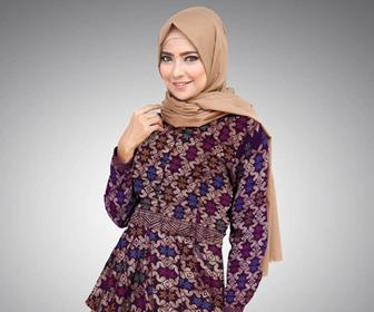 Cara Memilih Batik Dan Hijab Yang Cocok
