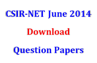 CSIR NET JUNE-2014 PAPER WITH SOLUTION