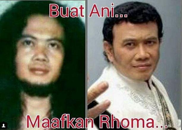 Meme Kocak Rhoma Irama Dear Mantan CHANNEL DUNIA MAYA 7635
