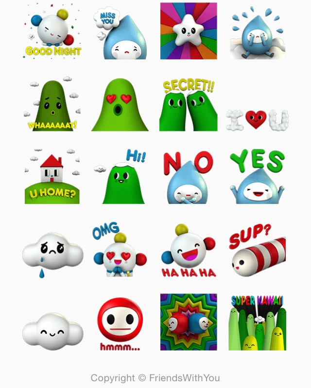 LINE Stickers Community: Free-Wish Come True sticker