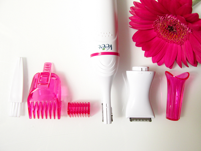 Beauty Favoriten Juni -  Veet - Sensitive Precision Beauty Styler - alle Aufsätze & Extras