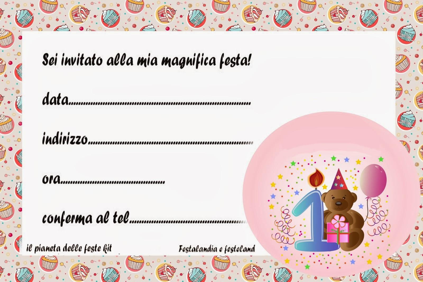 Popolare Festalandia e Festeland: primo compleanno bimba. inviti ,addobbi e  ZI63