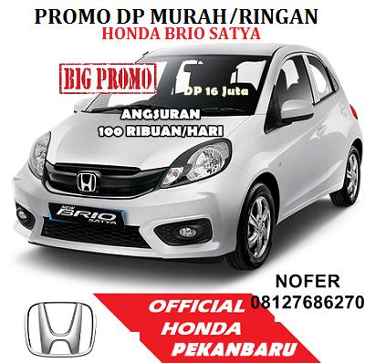 Promo Honda Brio  Pekanbaru Riau  2018