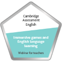 Digital badge on Immersive Games for English  Language Learning