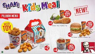 Daftar Harga Menu, Menu KFC, Menu KFC Indonesia, Paket KFC Layanan Drive-Thru,