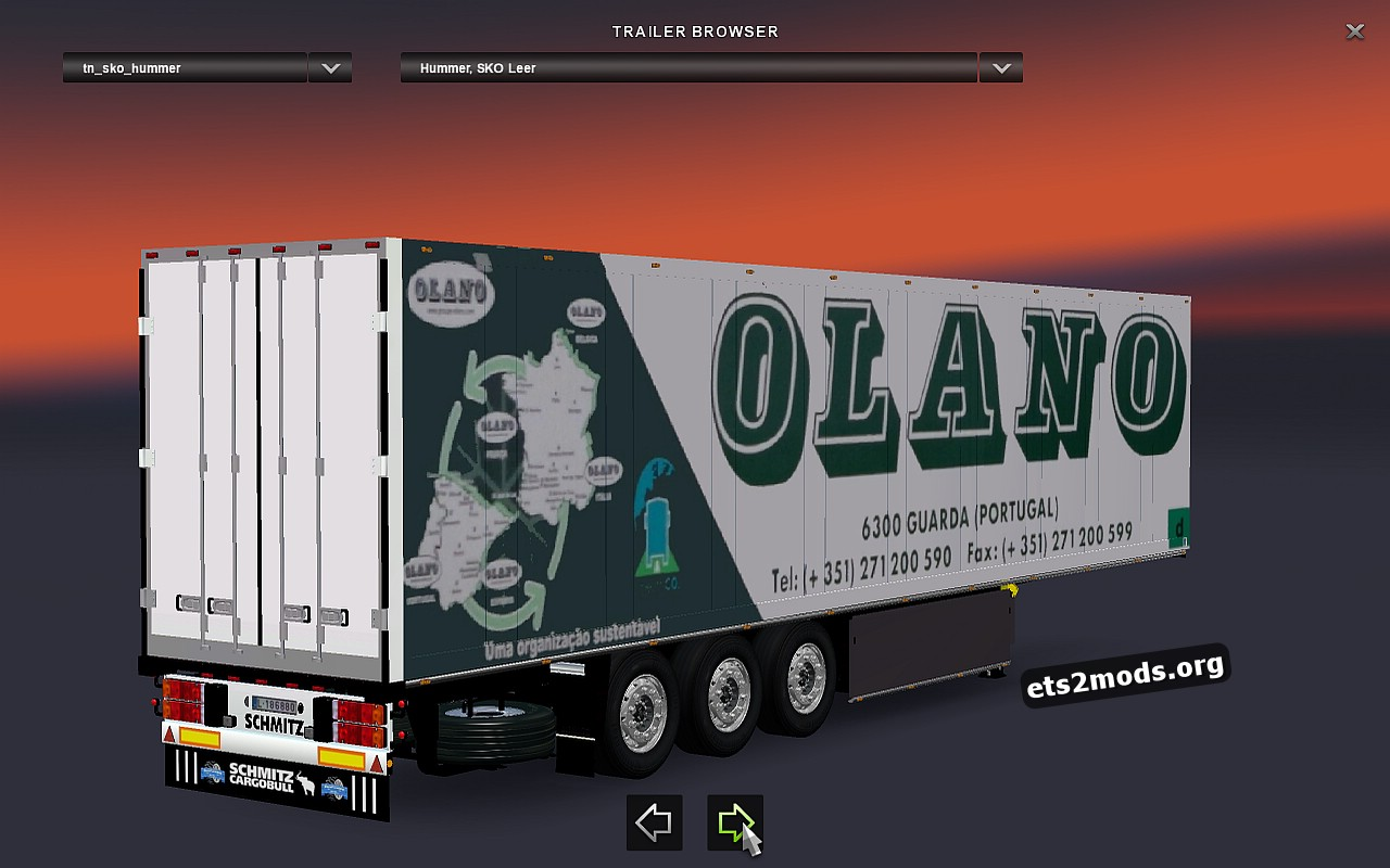 Standalone Olano Schmitz Trailer