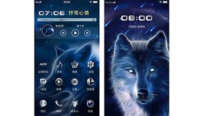 Vivo Themes: Tema Serigala Untuk Vivo