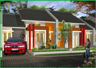 Desain simple teras rumah minimalis modern