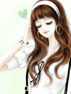 Karya Dyah Walpaper Kartun Korea Cantik