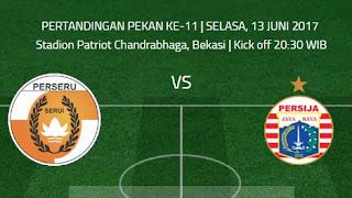 Jadwal Pertandingan Persija vs Perseru Dimajukan Jadi 13 Juni