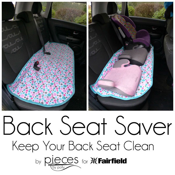 pieces by polly back seat saver keep your car seat clean life hack. Black Bedroom Furniture Sets. Home Design Ideas