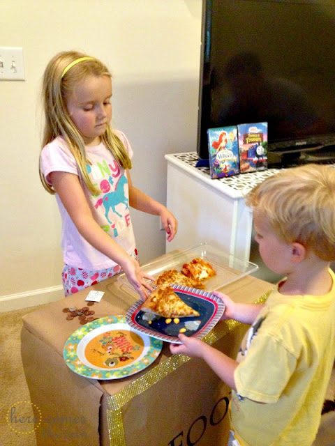 Family Movie Night with Easy Meals from Nestle Meal Solutions #shop #BTSIdeas