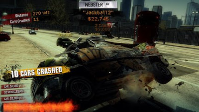 Burnout Paradise cash car