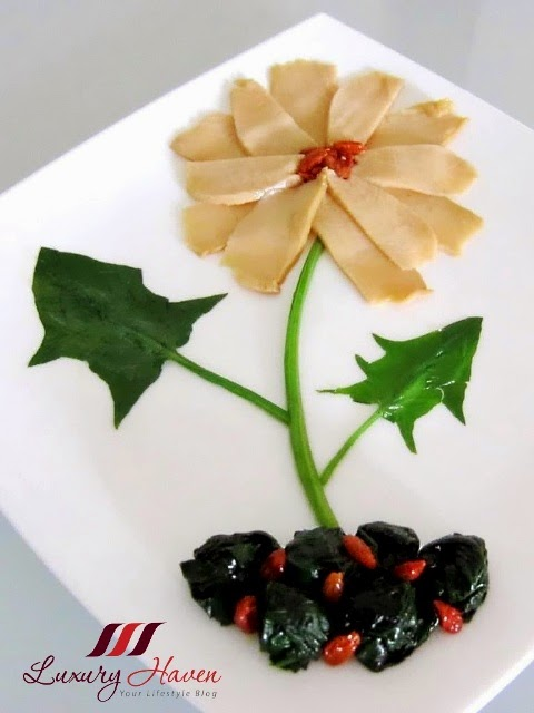 creative chinese new year abalone flower recipe