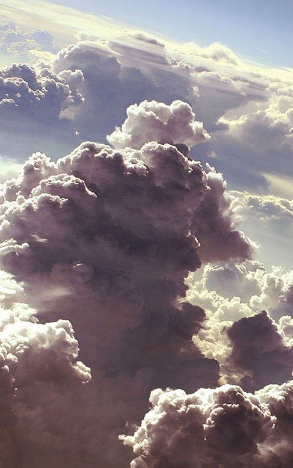 Above Storm Clouds  Galaxy Note HD Wallpaper