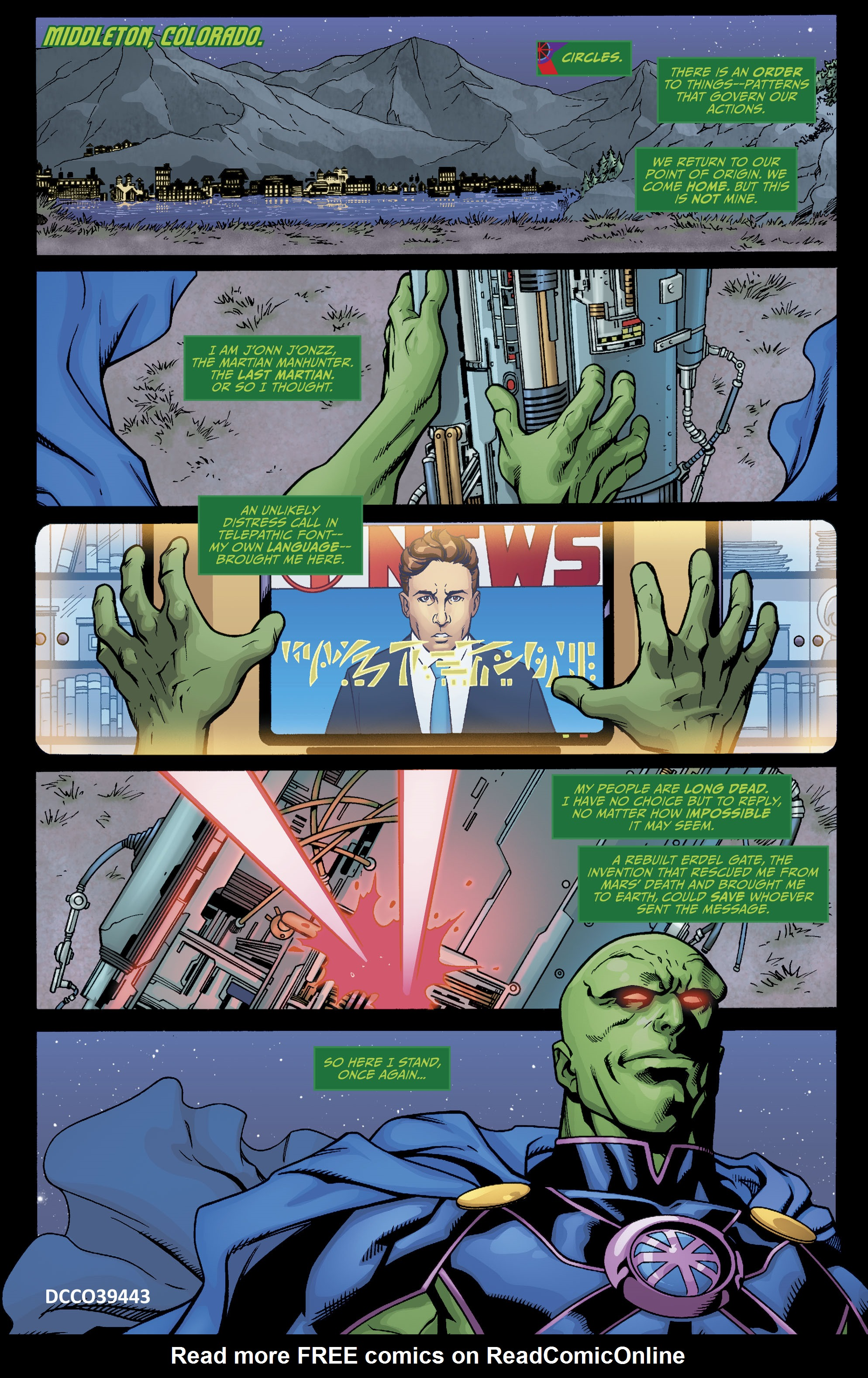 Read online Martian Manhunter/Marvin the Martian Special comic -  Issue # Full - 4