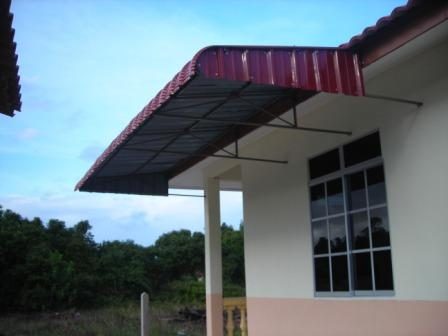 INS RENOVATION CONSTRUCTION WORKS PEMASANGAN AWNING
