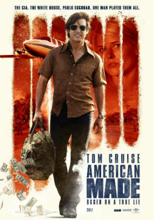 American Made 2017 300MB English 480p WEB-DL ESub watch Online Download Full Movie 9xmovies word4ufree moviescounter bolly4u 300mb movie