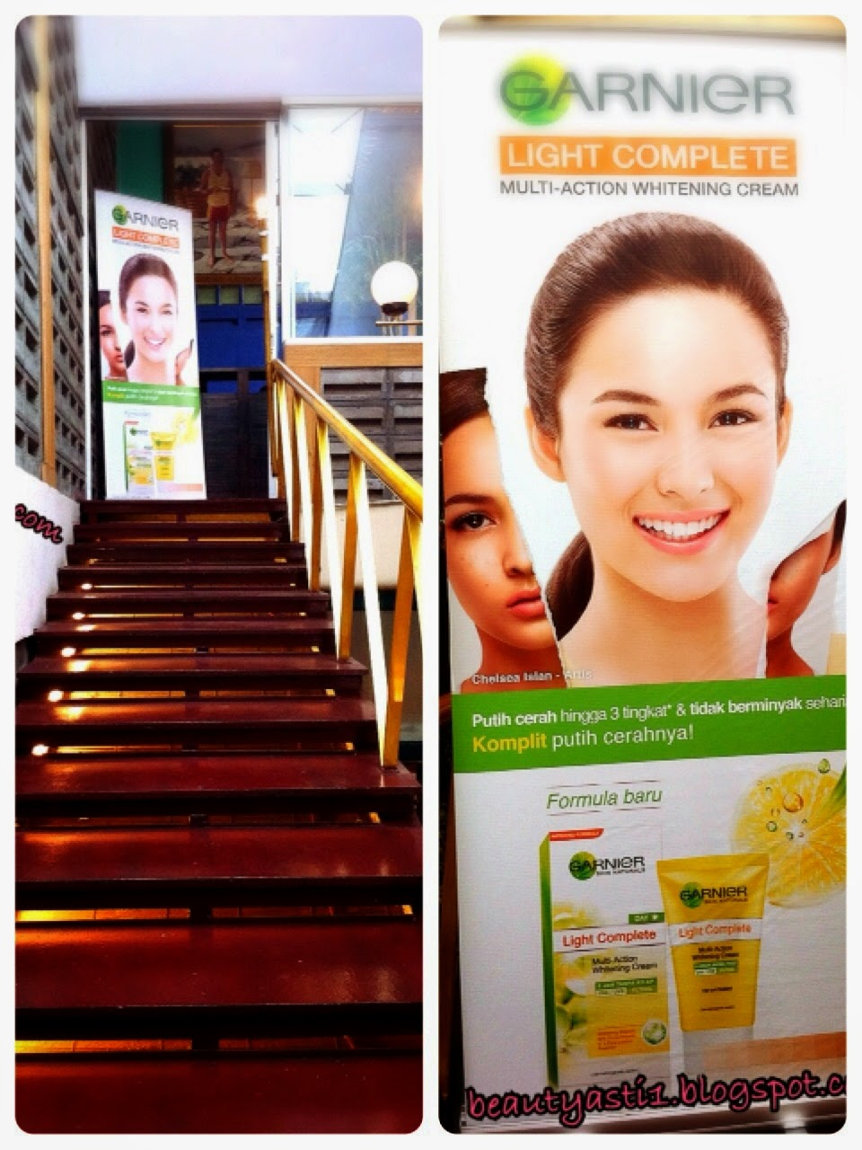Fastbreaking With Garnier Id Chelsea Islan At Yeyo Cafe Beautyasti1