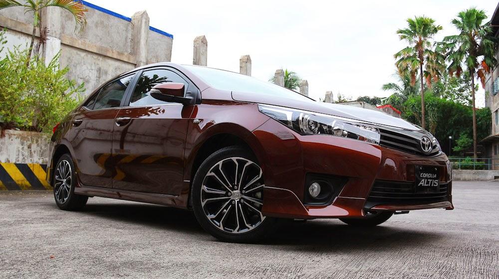 Toyota Corolla Altis phiên bản 2014-2015 hoàn toàn mới