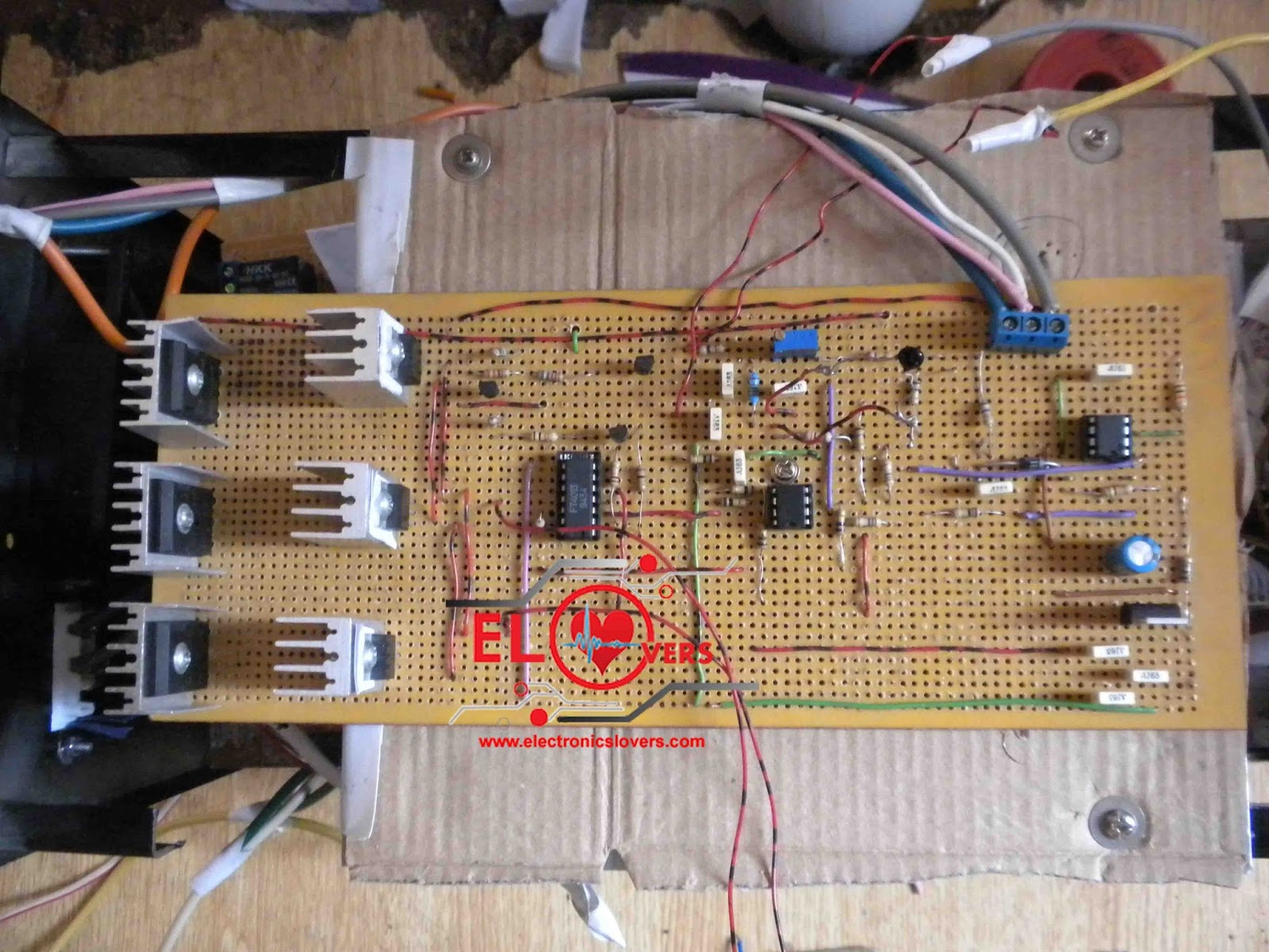Home Made MPPT CHARGE CONTROLLER WITH 3LEVEL CHARGING  Electronics Lovers ~ Technology We Love