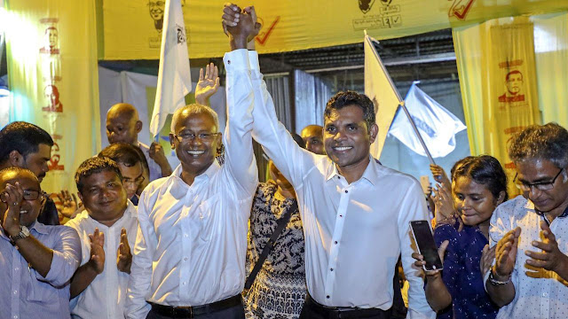 Pemimpin Oposisi Maladewa Menang Pilpres Kalahkan Petahana Yang Pro-China