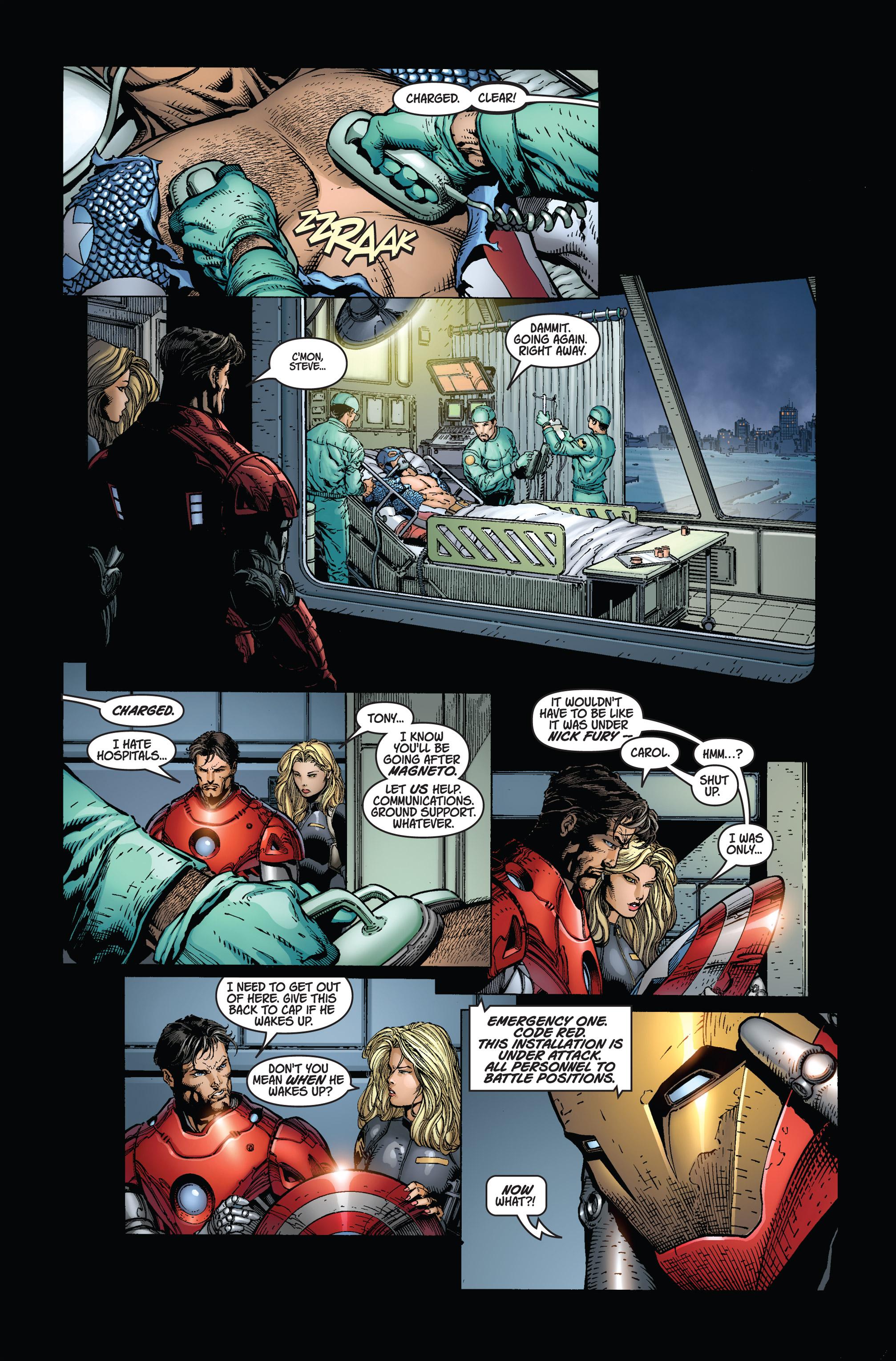 Read online Ultimatum comic -  Issue #2 - 8